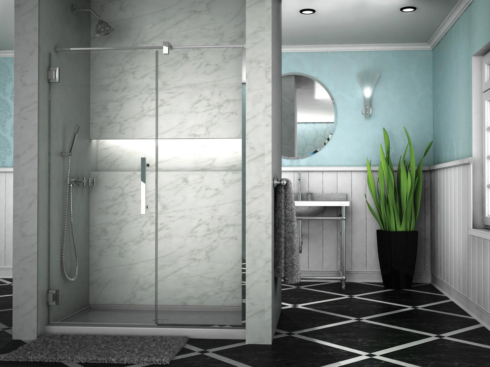 Bathroom Shower Door- Cronos Inline